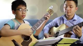 Ngõ vắng xôn xao - Hòa tấu guitar - Thư giãn sau giờ học Guitar solo căng thẳng với các nốt nhạc