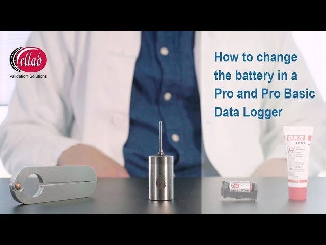 How to change the battery in a TrackSense Pro and Basic Logger