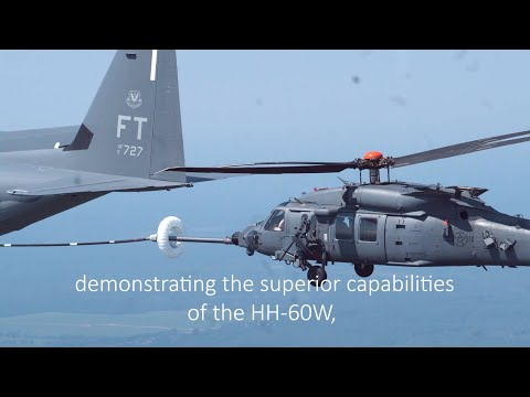 Combat Rescue Helicopter Successfully Executes Major Test Milestone: Aerial Refueling