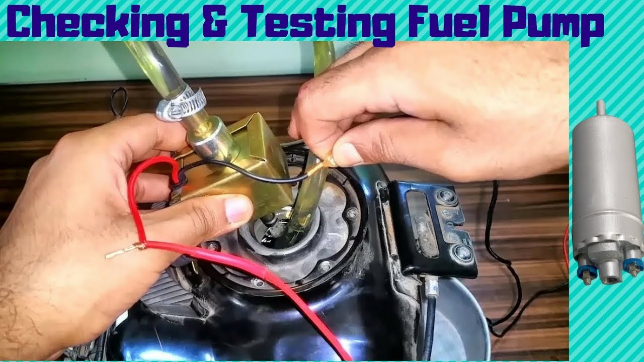 ⛽Checking And Testing Fuel Pump of Car/Motorcycle at Home without any  special tools