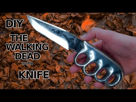 The Walking Dead Knife Made For Real! Badass!!!