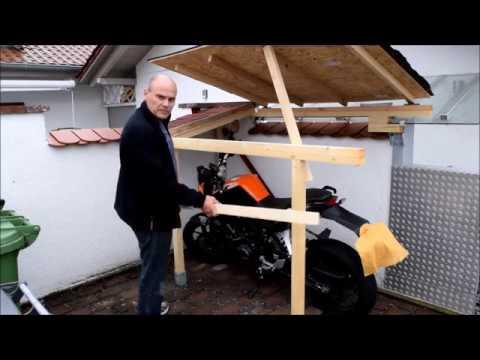 Wir Bauen Eine Tiny Garage Kleine Garage F 252 R Die Ktm 125
