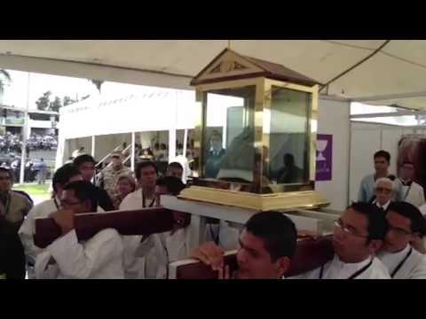 Oscar Romero relics at Beatification Mass