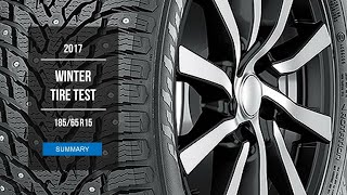 2017 Winter Tire Test Results | 185/65 R15 | Studded