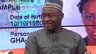 Ghana Card - AM Talk on JoyNews (28-5-18)