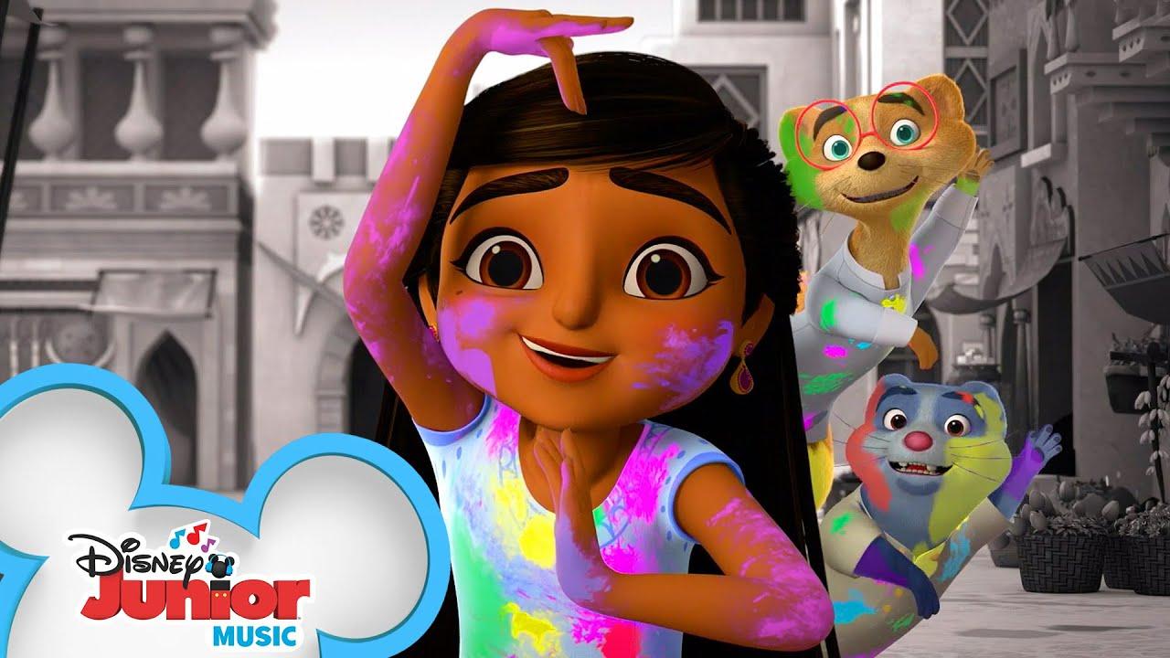 Download Holi Festival Mystery   Music Video   Mira, Royal Detective   @Disney Junior