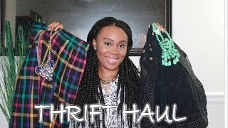 Thrift Haul | Spring Edition Thumbnail