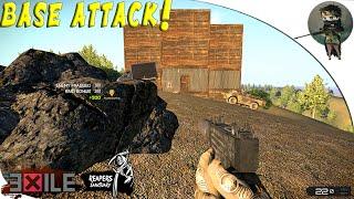 ARMA 3: Exile Mod — AI Rayak — BASE ATTACK!