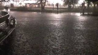 東京ディズニーランド 豪雨でどんどん水没 TokyoDisneyLand submerged thumbnail