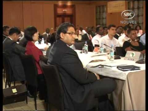 SBC Seychelles:  Mr Kiflle Hamza of PTA Bank Meets VP Danny Faure.wmv  04-10-10