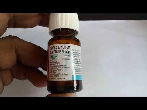 Eltroxin 75 Mg Tablet Full Review Youtube