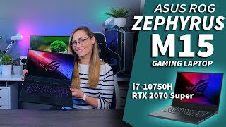 Gaming Beast with a Pro 4K Display - ASUS ROG Zephyrus M15 Review RTX 2070 Super Max-Q