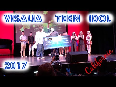 Visalia Teen Idol 2017 - Jason Bionda