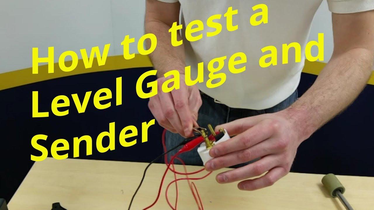 harley fuel gauge wiring diagram testing marine level gauges and senders youtube  testing marine level gauges and senders