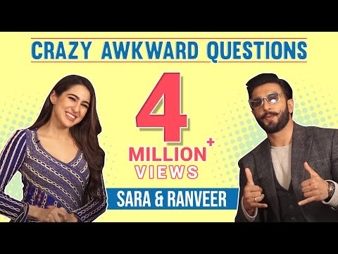 Crazy Awkward Questions With Ranveer Singh & Sara Ali Khan