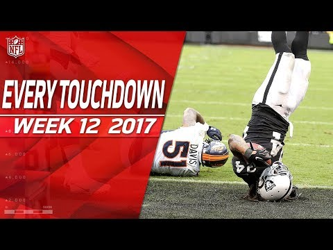 Every Touchdown from Week 12 | 2017 NFL Highlights