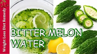 DIABETES BITTER MELON WATER LEMON juice smoothie karela bitter gourd मधुमेह कड़वे तरबूज लौकी