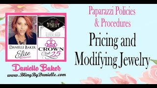 Pricing & Modifying Jewelry - Paparazzi Policies & Procedures