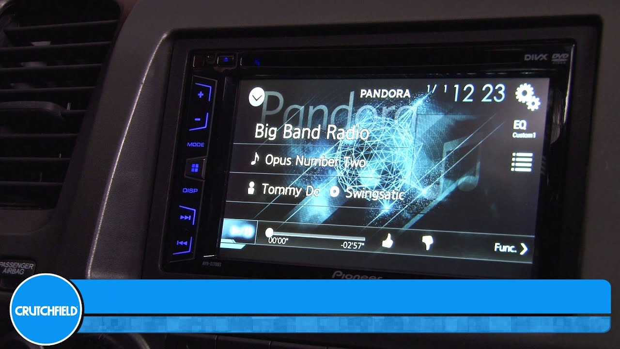 Pioneer AVH-X1700DVD Car Multimedia Drivers PC