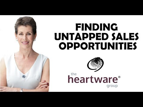Finding untapped sales opportunities