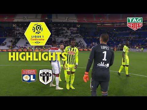 Olympique Lyonnais - Angers SCO ( 2-1 ) - Highlights - (OL - SCO) / 2018-19