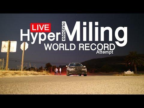 EV HyperMiling World Record Attempt @ Autoclub Speedway