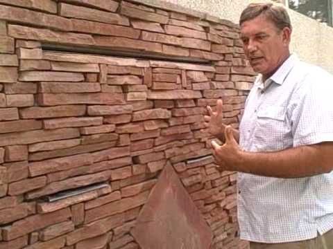 Wall Fountain Custom Built By Larrys Garden   YouTube