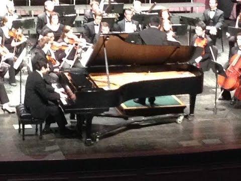 "Beethoven Piano Concerto Op. 73 ""Emperor"" Liguang Zhou Ohio University Symphony Orchestra"
