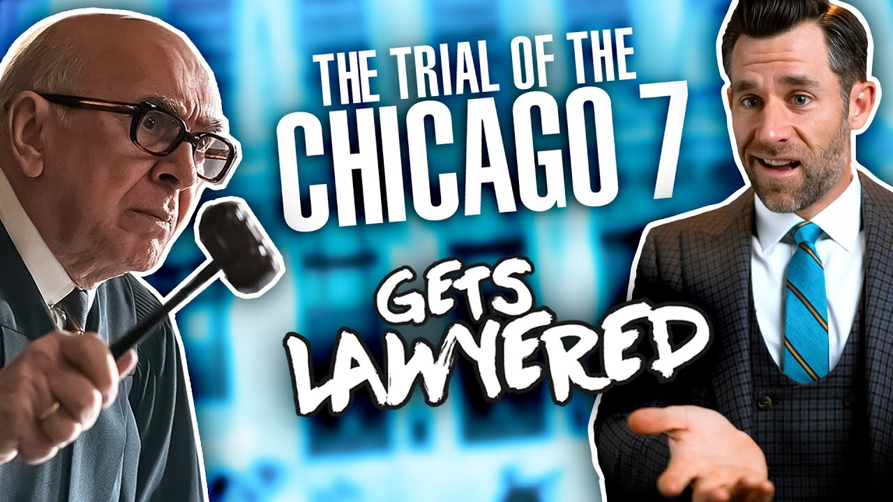 Real Lawyer Reacts To the Trial of the Chicago 7 - download from YouTube for free