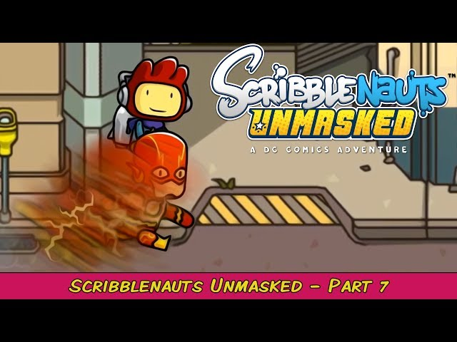 Scribblenauts Unmasked: A DC Comics Adventure Part 7   Grawlix Plays