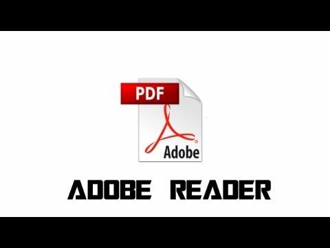 ERROR ABRIR PDF ADOBE READER – SOLUCIÓN