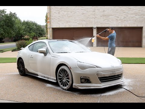 Touchless Car Wash With Foam Cannon - Does it work?