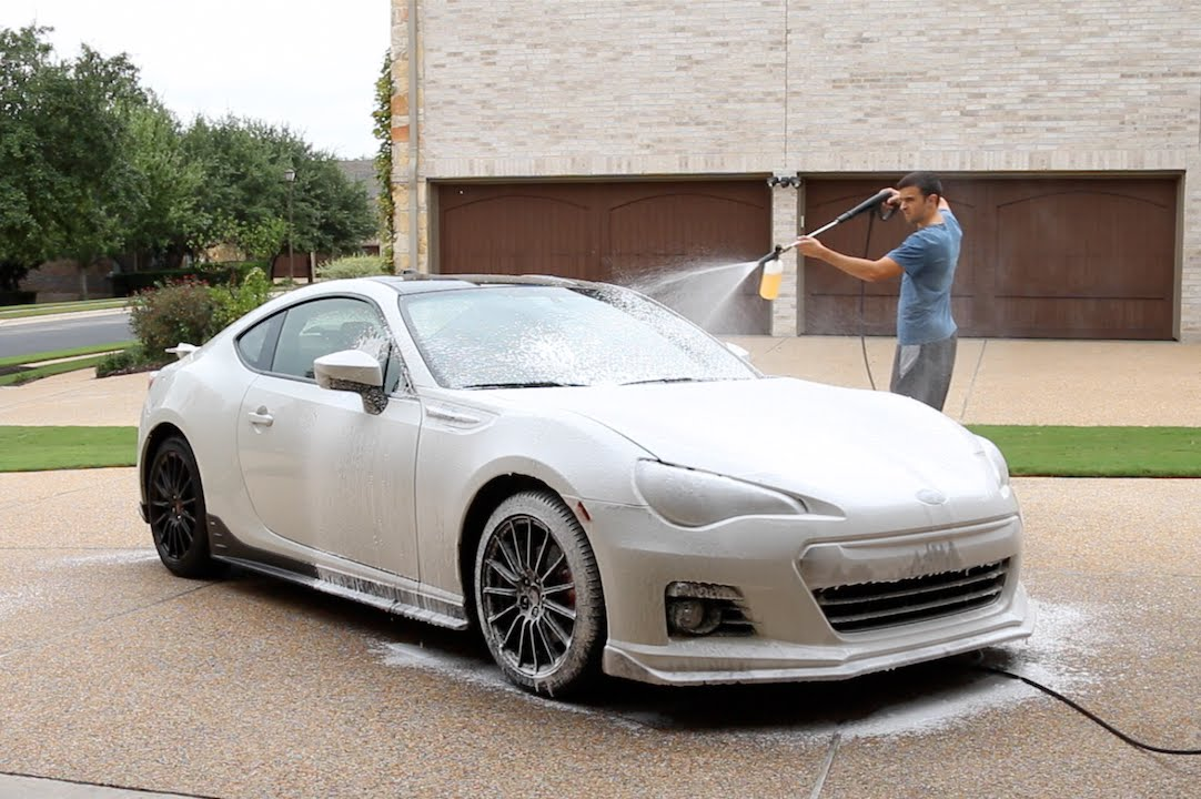 Touchless car wash with foam cannon does it work youtube solutioingenieria