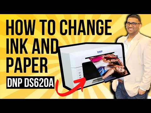DNP DS620A | How To Change Ink And Paper | Photo Booth