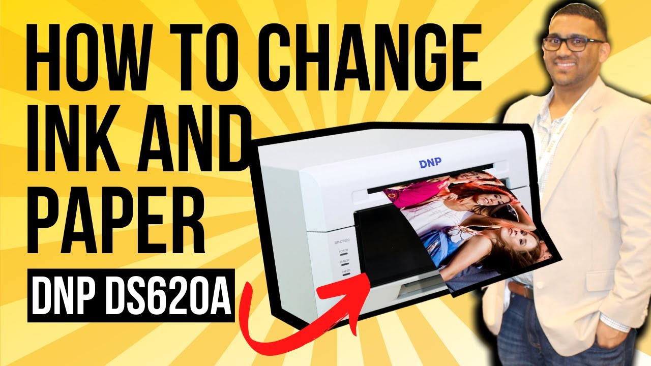 Dnp Ds620a How To Change Ink And Paper Photo Booth International