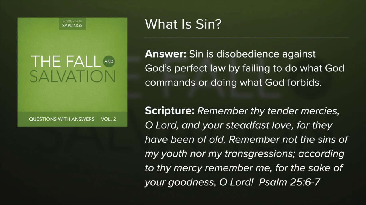 sin is sin to god