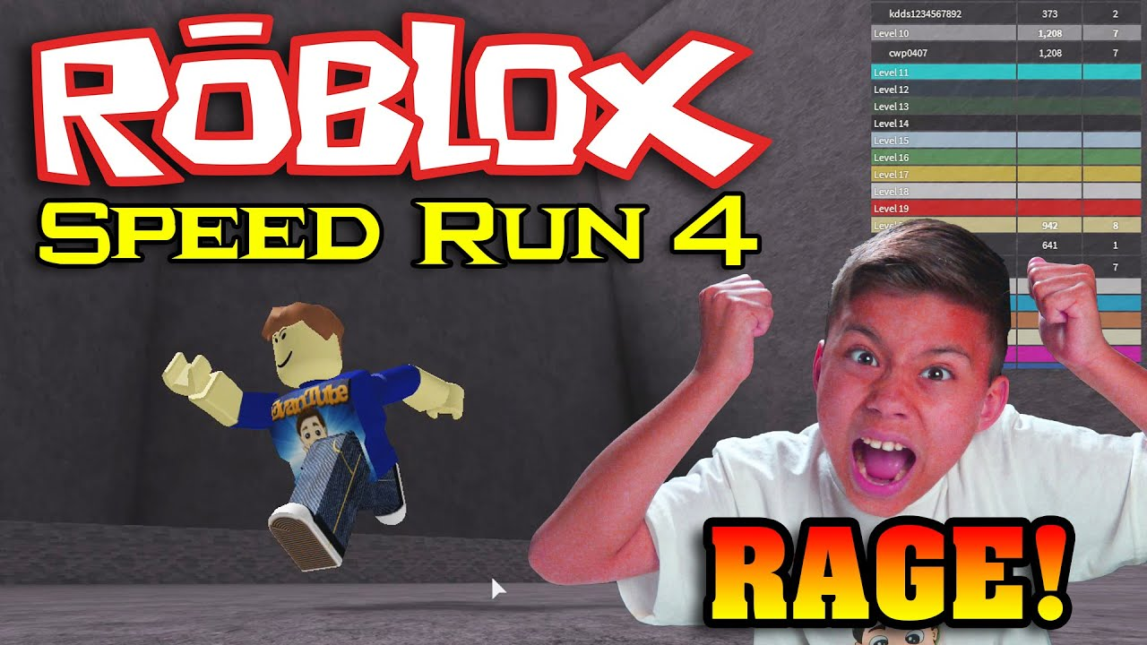 Speed run 4 not on roblox