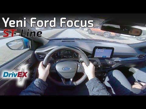YENİ FORD FOCUS ST-Line 2019 1.5 TDCi 120 HP //POV Test Sürüşü