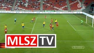 Forgács Dávid gólja a DVTK - MEZŐKÖVESD ZSÓRY FC mérkőzésen