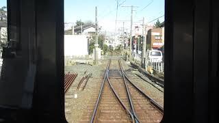 【前面展望】京成電鉄金町線 京成高砂駅~金町駅