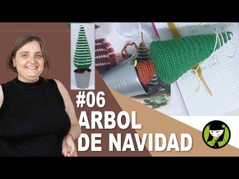 Arbol de navidad tejido a crochet 06 AMIGURUMIS DE NAVIDAD