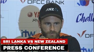 New Zealand skipper Kane Williamson's press-conference ahead of the 1st Test against Sri Lanka