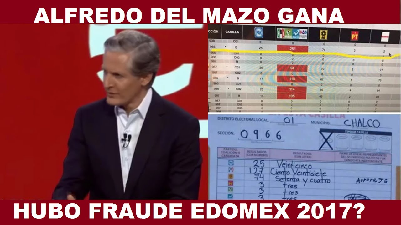 a90fab8f6d16a HUBO FRAUDE EN EL ESTADO DE MÉXICO  ALFREDO DEL MAZO GANA LAS ELECCIONES