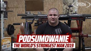 Mateusz Kieliszkowski - podsumowanie The World's Strongest Man 2019