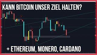 3800 Bitcoin erreicht, Ethereum geht mit,😏 Cardano & Monero gut für einen Einstieg