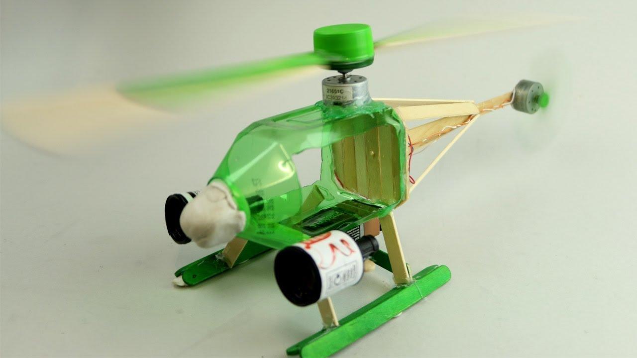 Brinquedos De Garrafa Pet Helicoptero Reciclavel Youtube