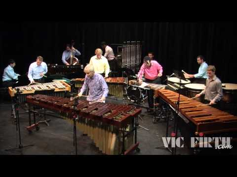 "Ney Rosauro Performs His ""Concerto No.2 for Marimba and Percussion Ensemble"""