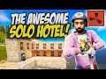 THE QUEST To Build a SOLO HOTEL! - Rust Solo Survival Gameplay