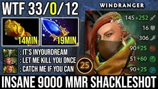 OMG First ITEM MKB Windranger 9000 MMR Show | Perfect Shackleshot One ULT Kill WTF Gameplay by Iyd