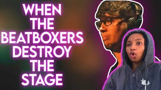 Beatboxers Destroying the Stage | reaction